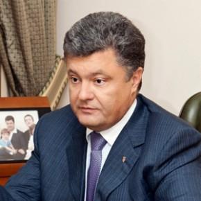 Порошенко объявил о временном прекращении огня на востоке Украины