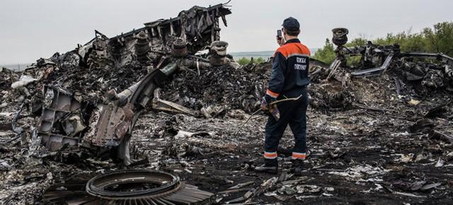 В небе над Донецком сбит пассажирский Boeing-777