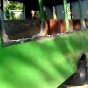 В Краматорске под обстрел попал автобус: 4 погибших