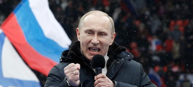 Владимир Путин полагает, что на дворе до сих пор 1985 год