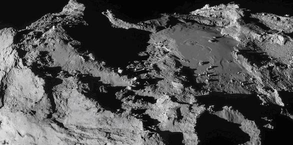 Розетта избежала столкновения с осколками кометы