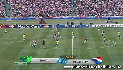 Бразилия — Парагвай. Прямая трансляция (смотреть онлайн футбол бесплатно с ...
