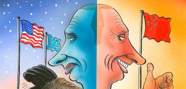 Россия переориентируется на Китай под давлением или #Санкции во благо