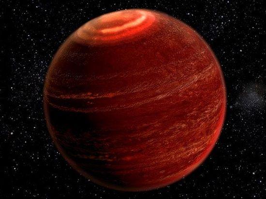 полярное сияние за пределами Солнечной системы