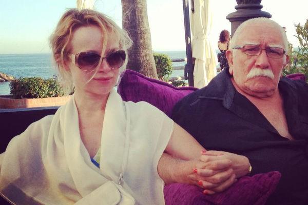 Армен Джигарханян с любовницей