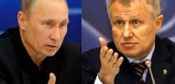 Виктор Медведчук пристроил Суркиса внештатным консультантом Путина