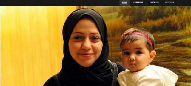 Сестра блоггера Раифа Бадави арестована в Саудовской Аравии