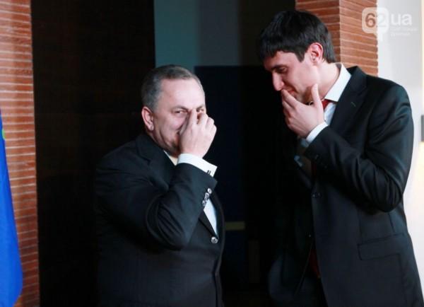 Борис Колесников и Левченко: два сепаратиста смеются над украинцами