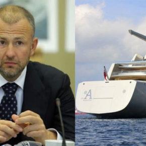 Миллиардеру Андрею Мельниченко не понравились новости на тему прибытия его мегаяхты в порт на острове Мэн